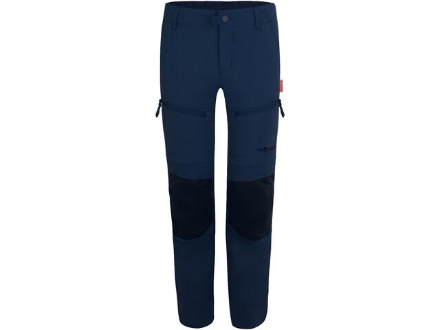 TROLLKIDS Nordfjord Pantaloni zip-off Bambino, navy